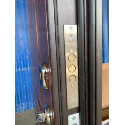 Входная дверь с терморазрывом Термо Аляска 3К с магнитным уплотнителем (ND)
