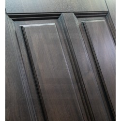 Входная дверь Лабиринт Лондон с зеркалом максимум Грей софт