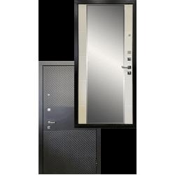 Входная стальная металлическая дверь - Ратибор Прима 3К Зеркало
