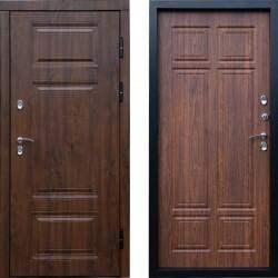 Входная металлическая дверь с терморазрывом Сибирь термо премиум орех