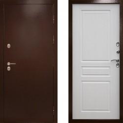 Входная металлическая дверь с терморазрывом Сибирь термо лиственница