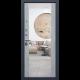 Входная дверь - АСД  «ДУЭТ Б с зеркалом»