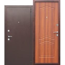 Входная дверь - Dominanta / Доминанта Рустикальный дуб